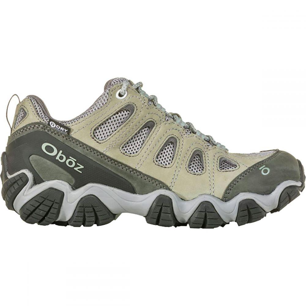 オボズ Oboz レディース ハイキング・登山 シューズ・靴【Sawtooth II Low B - Dry Hiking Shoe】Frost Gray/Sage