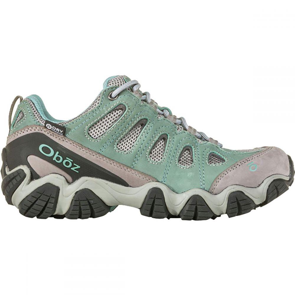 オボズ Oboz レディース ハイキング・登山 シューズ・靴【Sawtooth II Low B - Dry Hiking Shoe】Mineral Blue