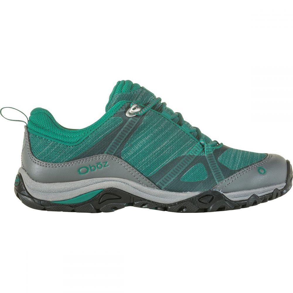 オボズ Oboz レディース ハイキング・登山 シューズ・靴【Lynx Low B - Dry Hiking Shoe】Aqua/Frost Gray
