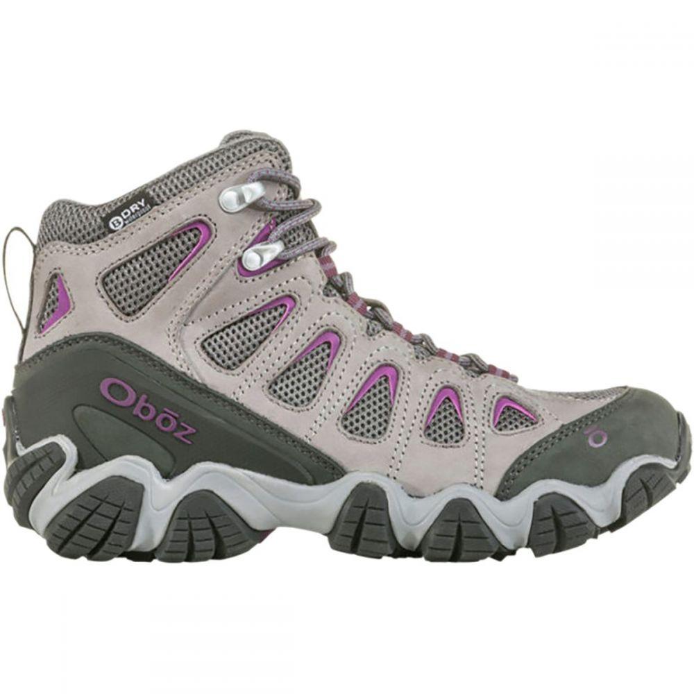 オボズ Oboz レディース ハイキング・登山 シューズ・靴【Sawtooth II Mid B - Dry Hiking Boot】Pewter/Violet