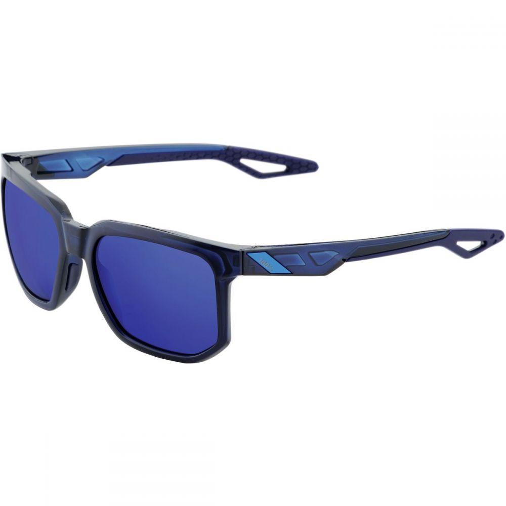 ヒャクパーセント 1 レディース スポーツサングラス【Centric Sunglasses】Polished Transluscent Blue-Electric Blue Mirror Lens