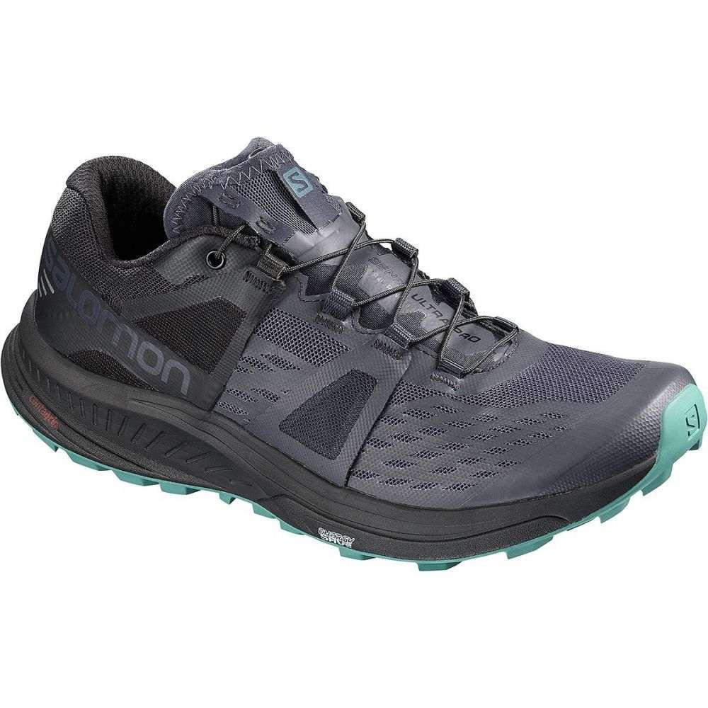 サロモン Salomon レディース ランニング・ウォーキング シューズ・靴【Ultra Pro Trail Running Shoe】Graphite/Black/Hydro