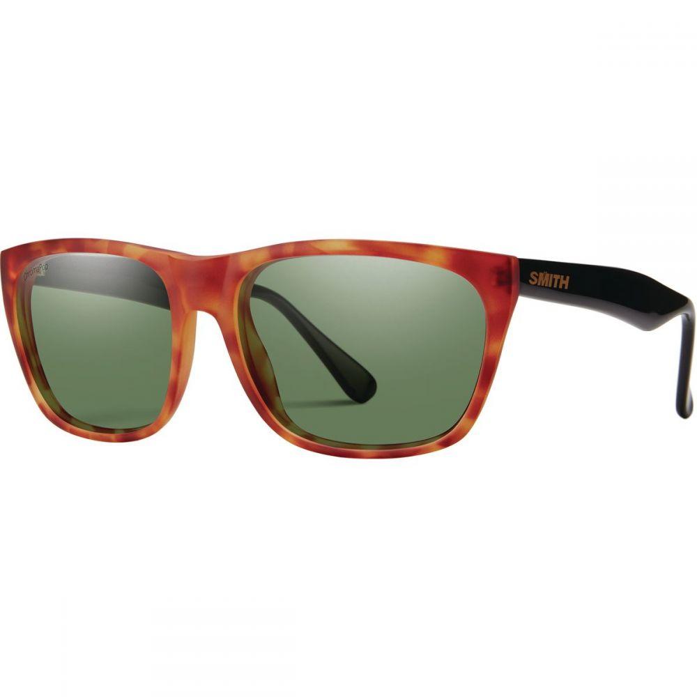 スミス Smith メンズ メガネ・サングラス【Tioga ChromaPop Polarized Sunglasses】Matte Honey Tort/Black/Polarized Gray Green