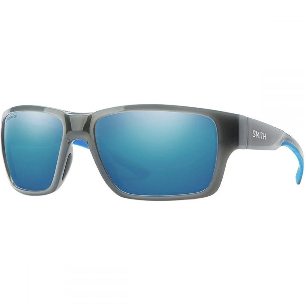 スミス Smith レディース スポーツサングラス【Outback Chromapop Polarized Sunglasses】Cloud Grey Fade/Polarized Blue Mirror
