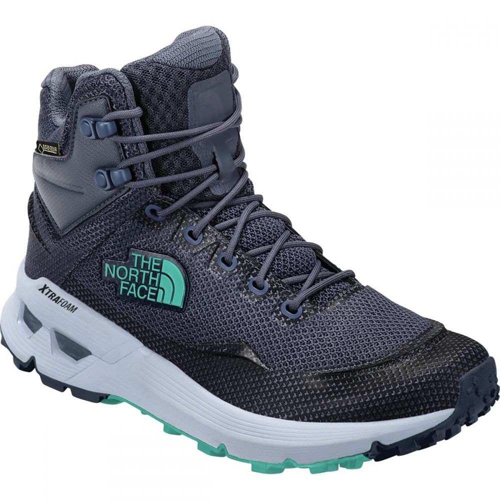 ザ ノースフェイス The North Face レディース ハイキング・登山 シューズ・靴【Safien Mid GTX Hiking Boot】Grisaille Grey/Ion Blue