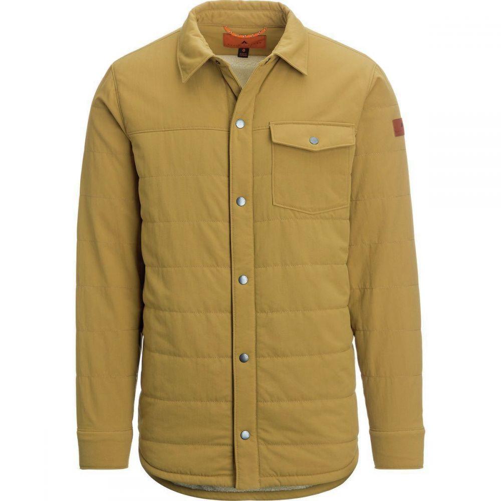 ベイスンアンドレンジ Basin and Range メンズ アウター ジャケット【Sherpa PrimaLoft Shirt Jackets】Dark Khaki