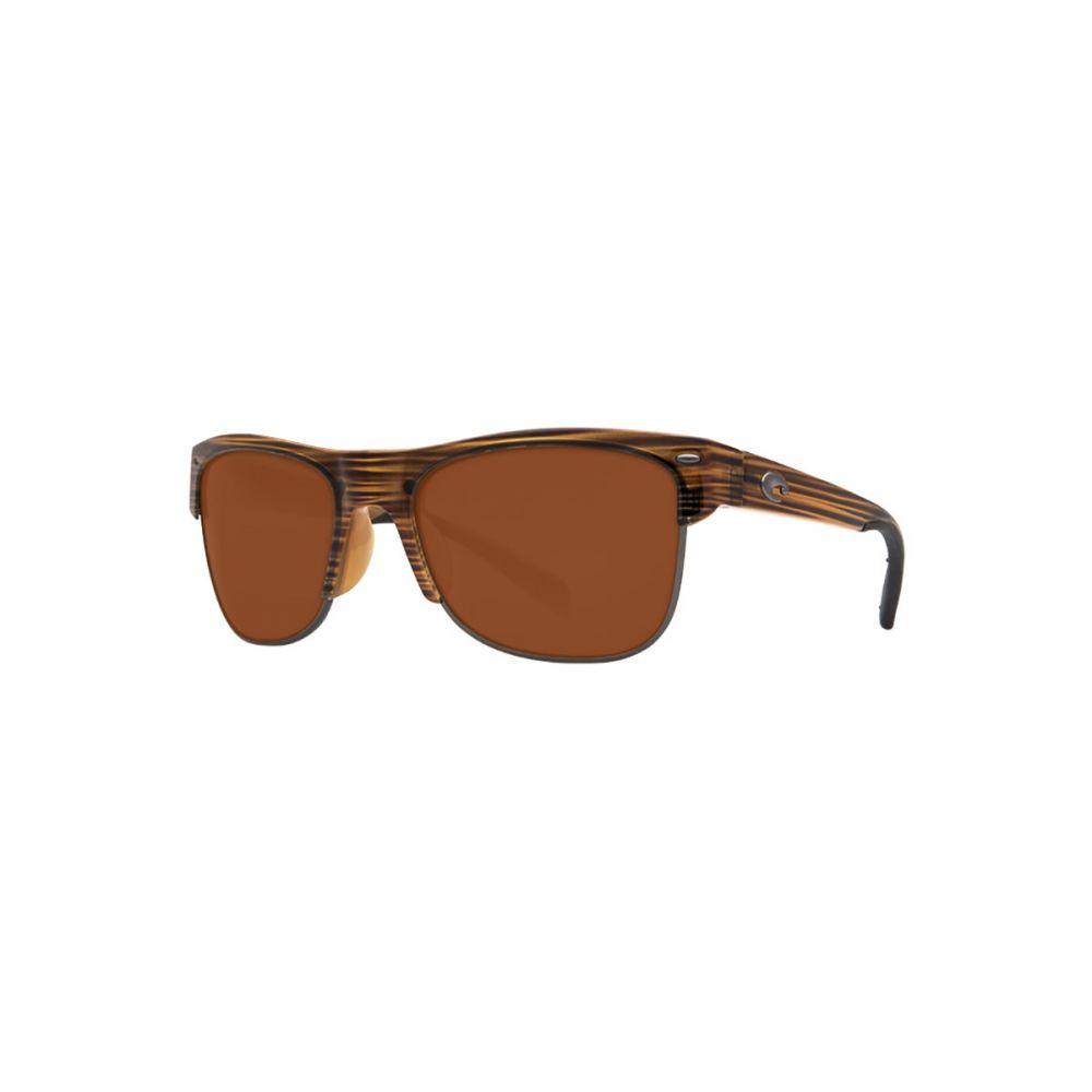 コスタ Costa メンズ メガネ・サングラス【Pawleys 580G Polarized Sunglasses】Teak Copper 580g