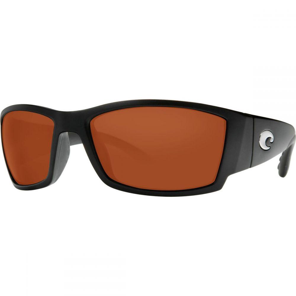 コスタ Costa レディース スポーツサングラス【Corbina 580P Polarized Sunglasses】Black/Copper