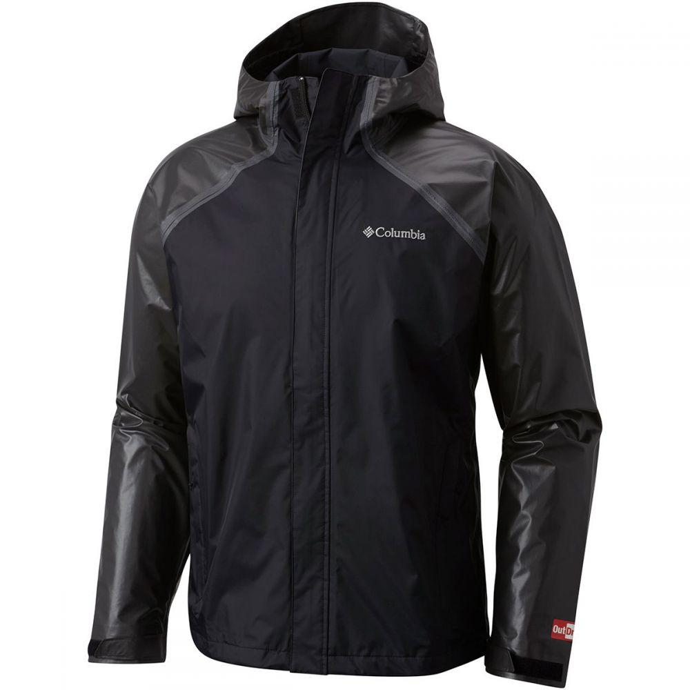 コロンビア Columbia メンズ アウター レインコート【Outdry Hybrid Jackets】Black