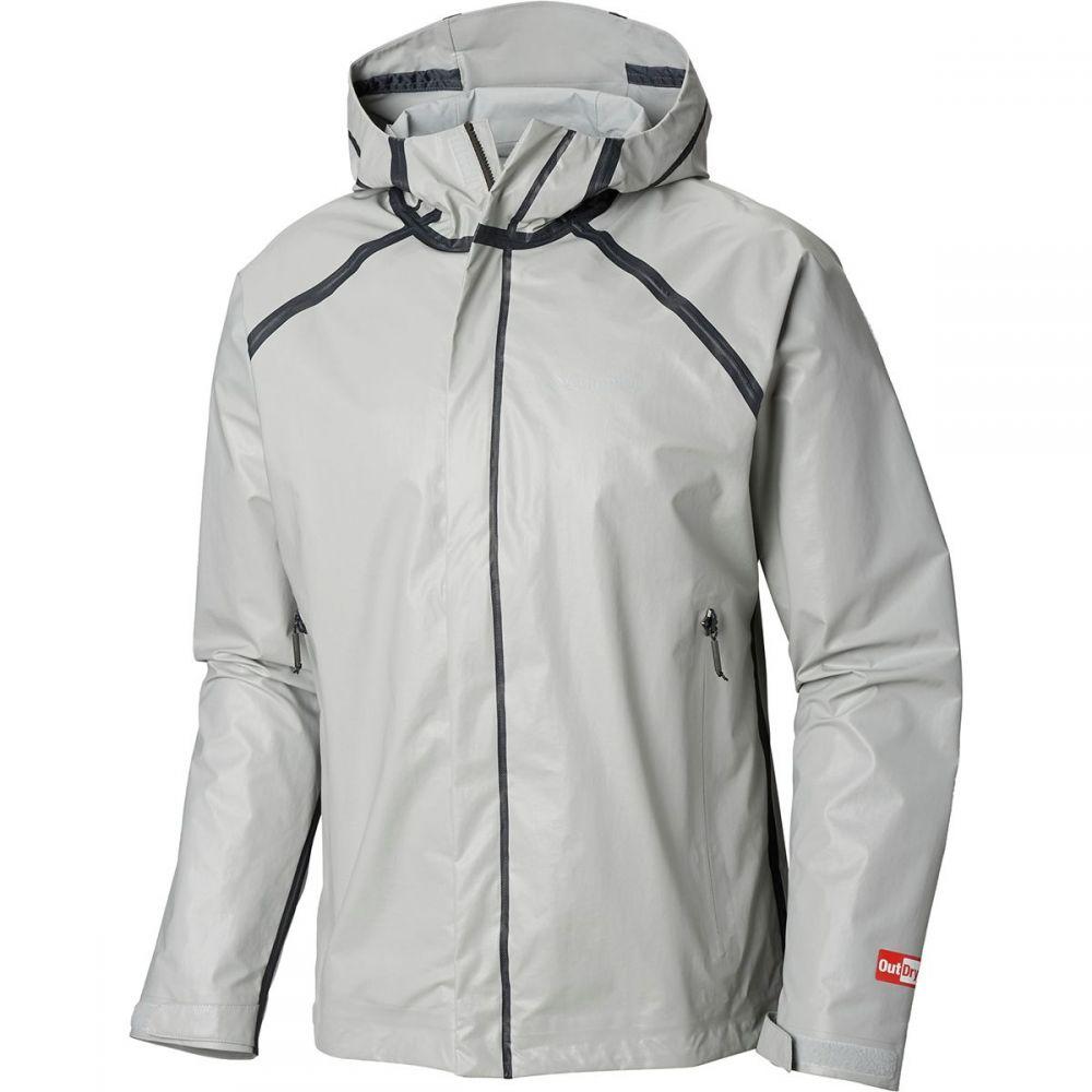 コロンビア Columbia メンズ アウター レインコート【Outdry Ex Blitz Jackets】Cool Grey