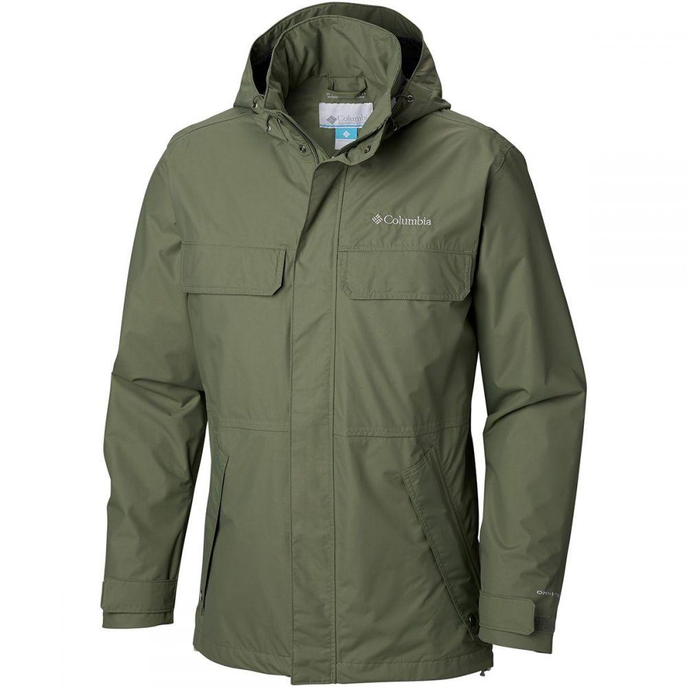 コロンビア Columbia メンズ アウター レインコート【Dr. Downpour II Jackets】Cypress