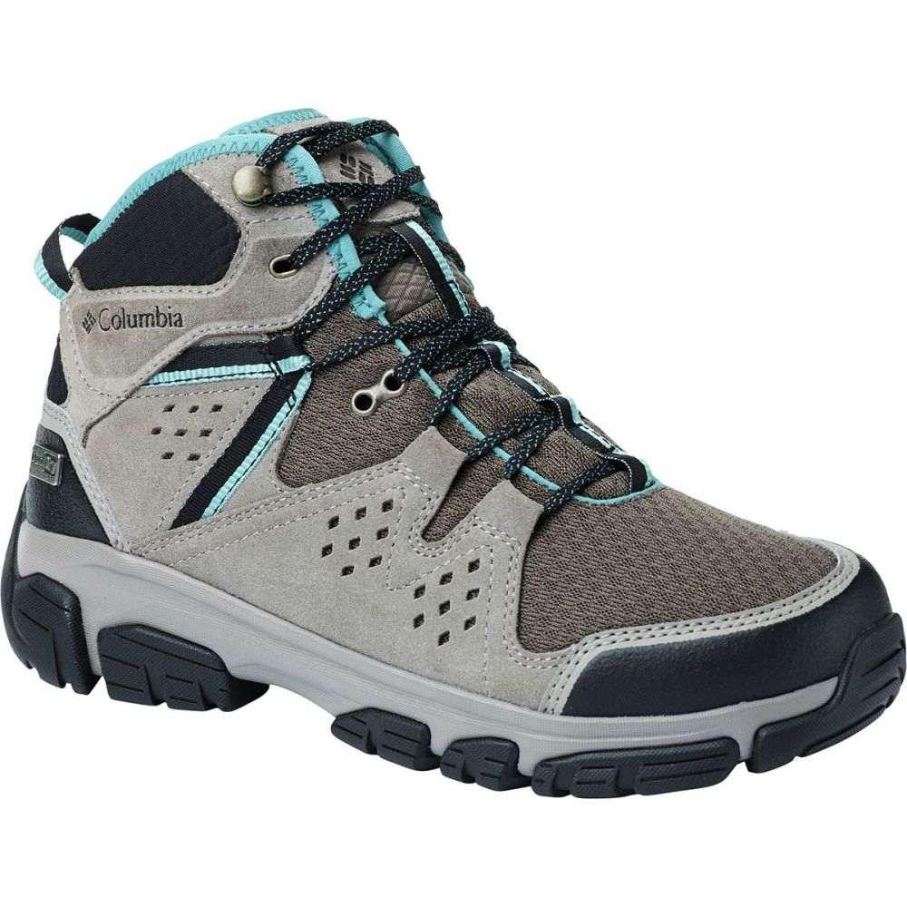 コロンビア Columbia レディース ハイキング・登山 シューズ・靴【Isoterra Outdry Mid Hiking Boot】Mud/Teal