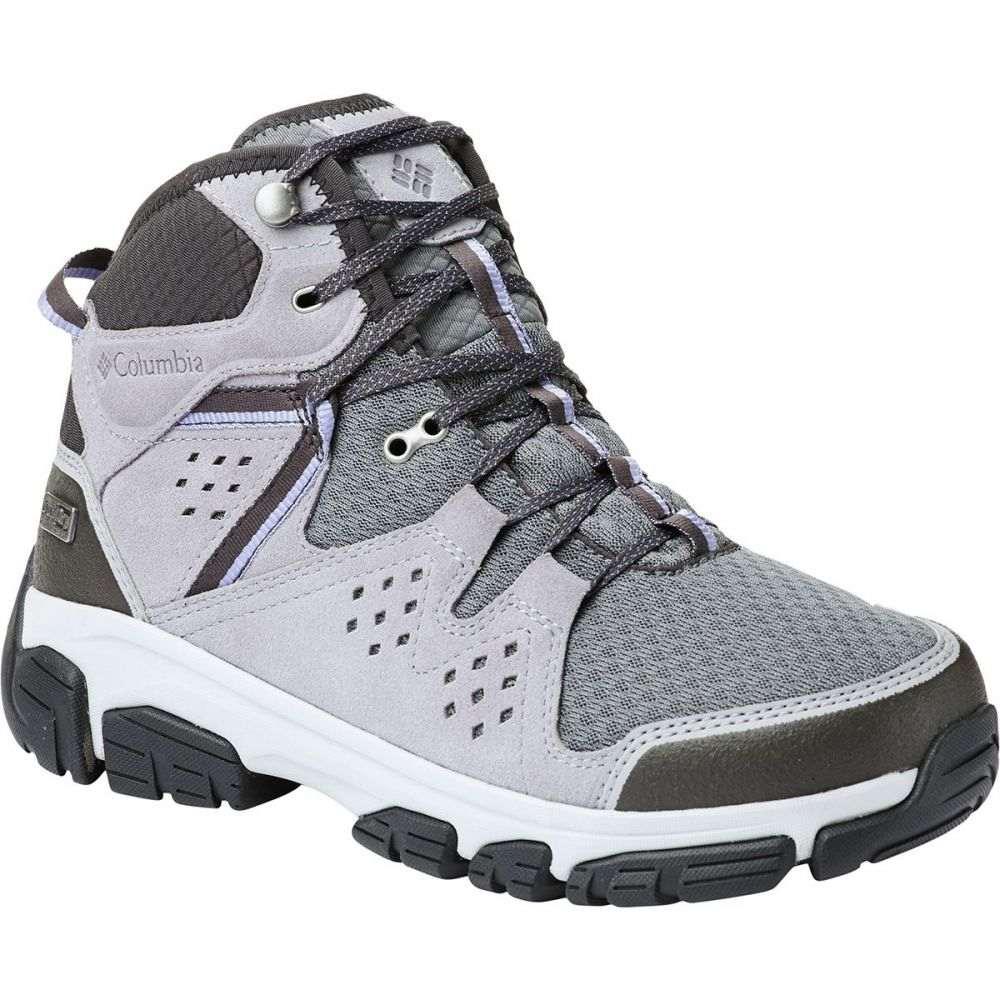 コロンビア Columbia レディース ハイキング・登山 シューズ・靴【Isoterra Outdry Mid Hiking Boot】Ti Grey Steel/Fairytale