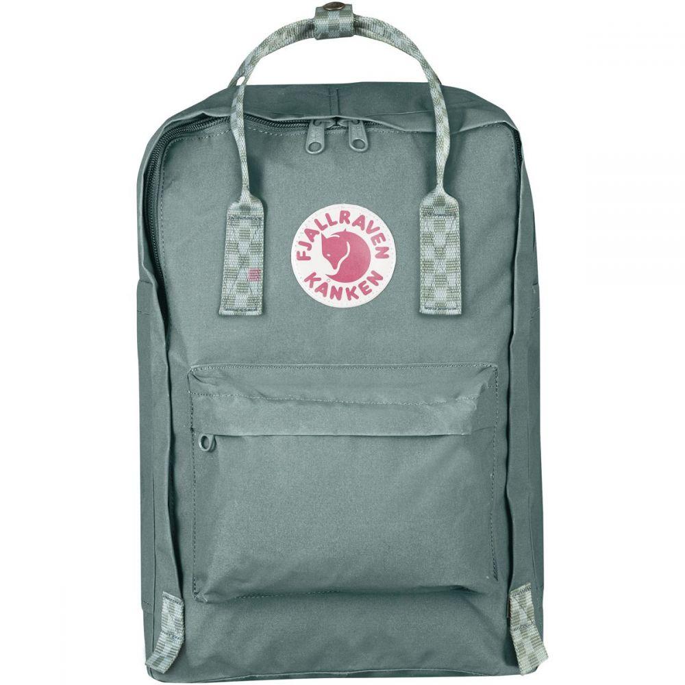 フェールラーベン Fjallraven レディース バッグ パソコンバッグ【Kanken 15in Laptop Backpack】Frost Green/Chess Pattern