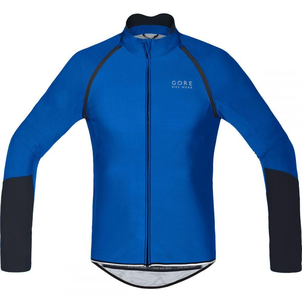 ゴアバイクウェア Gore Bike Wear メンズ 自転車 トップス【Power Windstopper Softshell Zip - Off Jerseys】Brilliant Blue/Black
