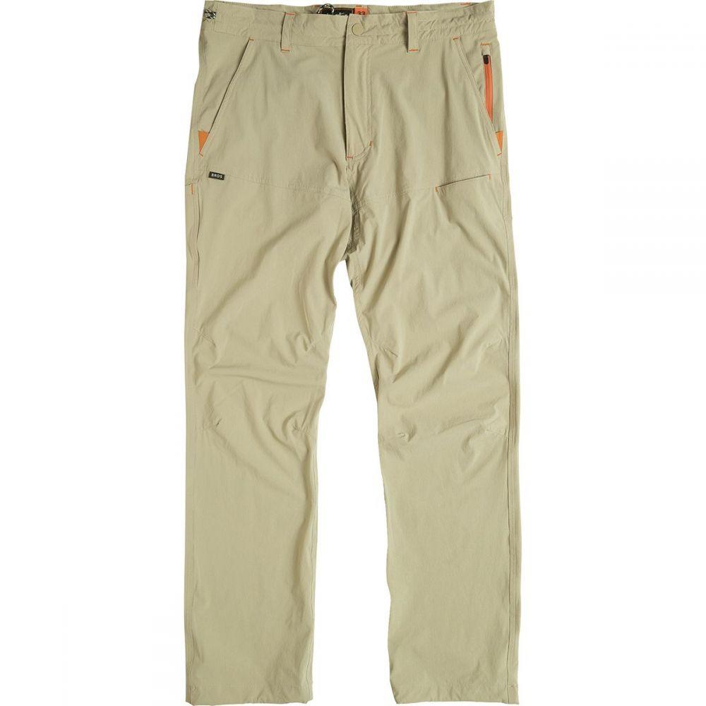 ホウラーブラザーズ Howler Brothers メンズ ハイキング・登山 ボトムス・パンツ【Shoalwater Tech Pants】Khaki