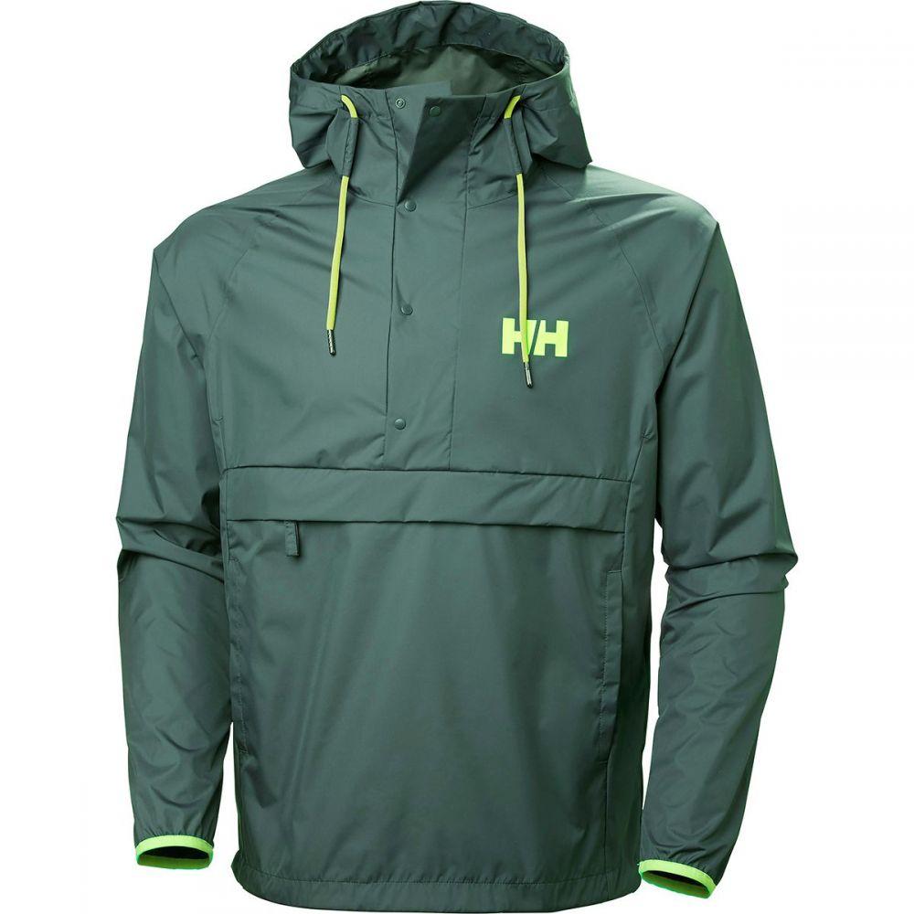 ヘリーハンセン Helly Hansen メンズ アウター レインコート【Loke Packable Anoraks】Jungle Green