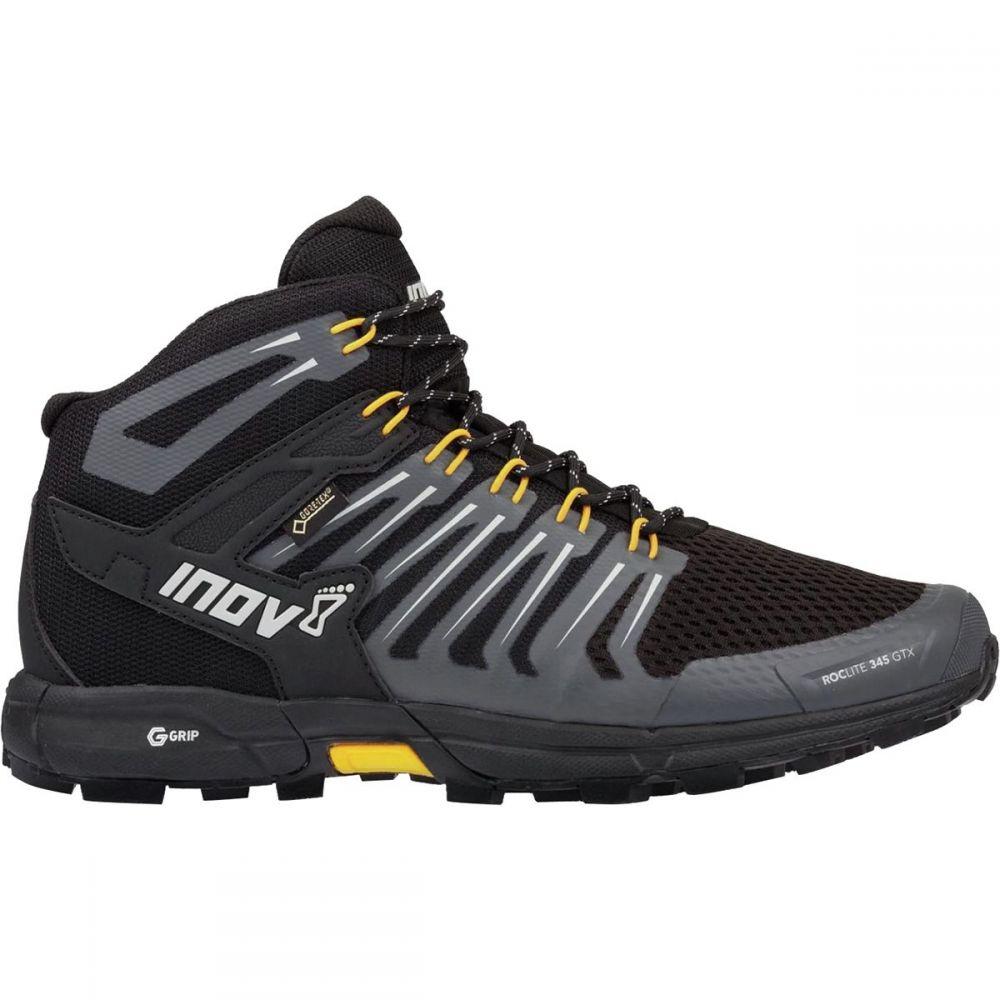 イノヴェイト Inov 8 メンズ ハイキング・登山 シューズ・靴【RocLite 345 GTX Hiking Boots】Black/Yellow