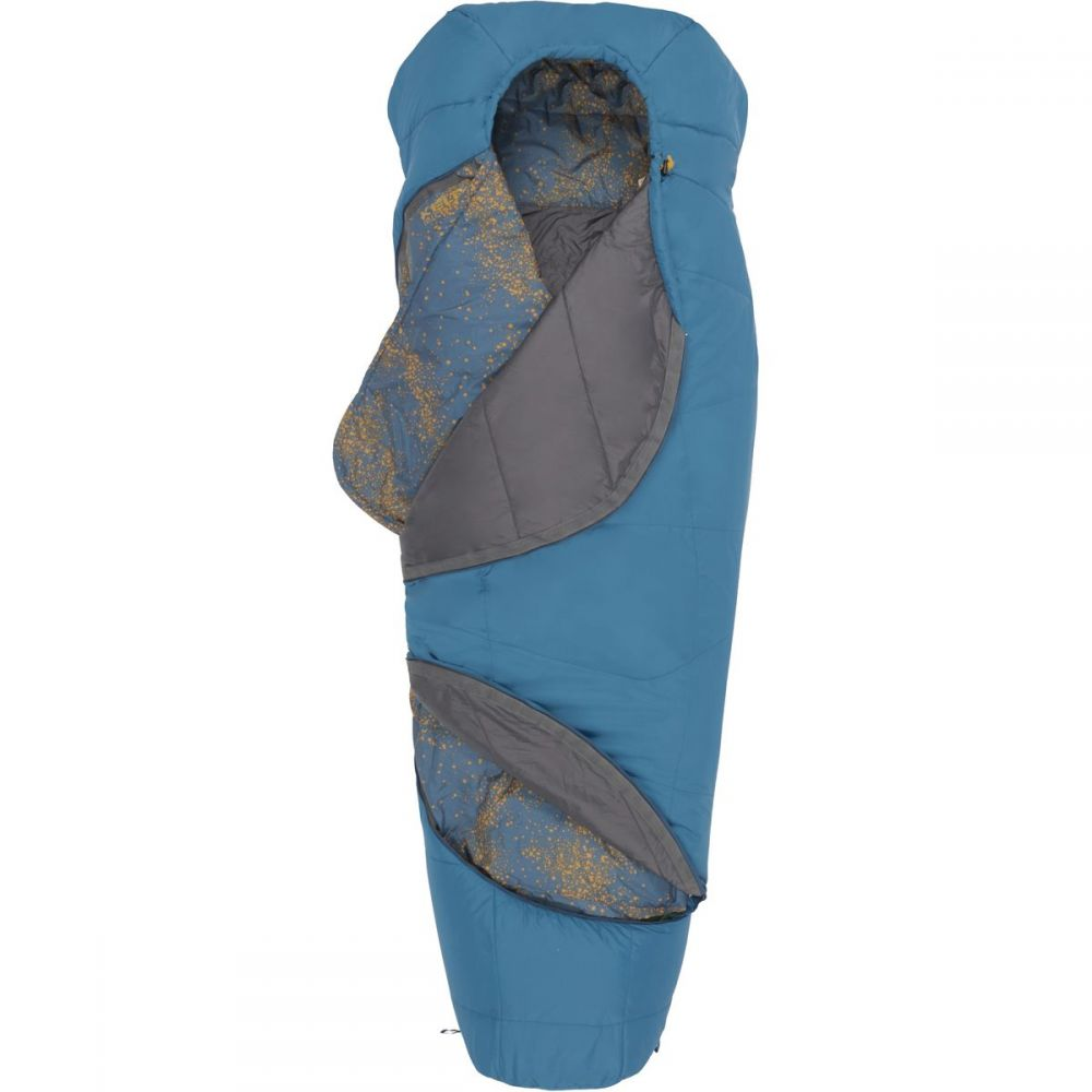 ケルティ Kelty メンズ ハイキング・登山【Tru.Comfort 20 Sleeping Bag: 20 Degree Synthetics】Tapestry Blue/Sunflower