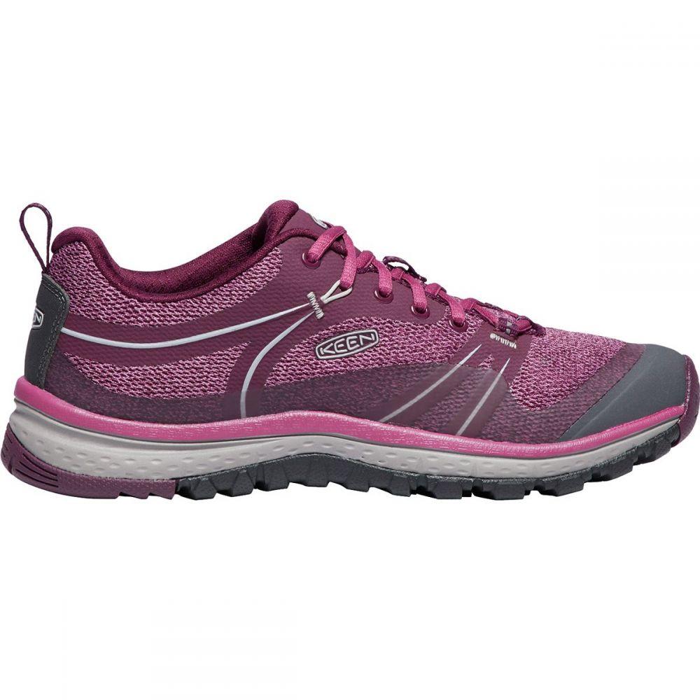 キーン KEEN レディース ハイキング・登山 シューズ・靴【Terradora Hiking Shoe】Grape Wine/Red Violet