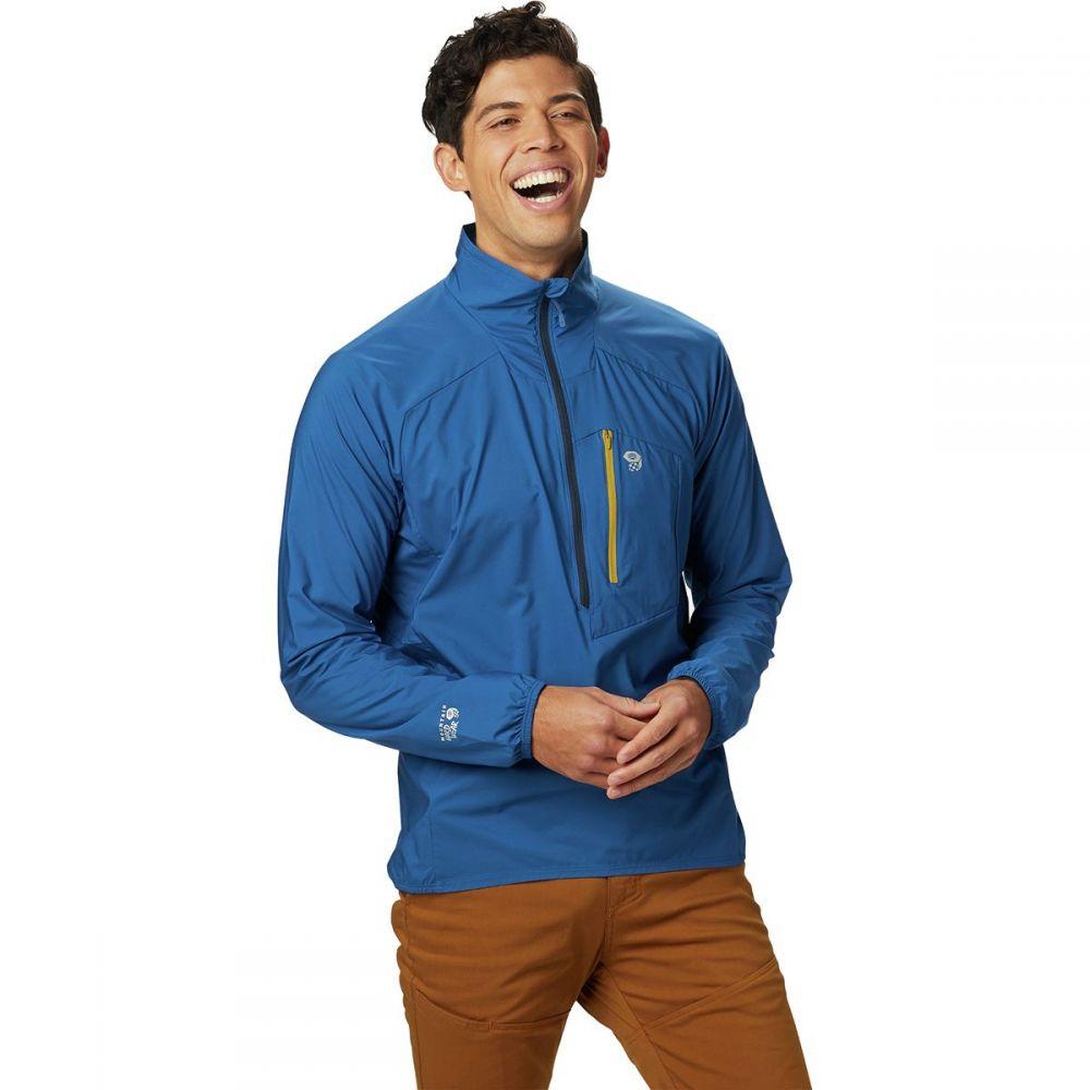 マウンテンハードウェア Mountain Hardwear メンズ アウター ジャケット【Kor Preshell Pullover Jackets】Nightfall Blue