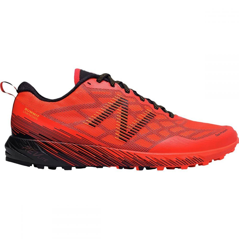 ニューバランス New Balance メンズ ランニング・ウォーキング シューズ・靴【Summit Unknown Trail Running Shoes】Flame/Impulse/Black