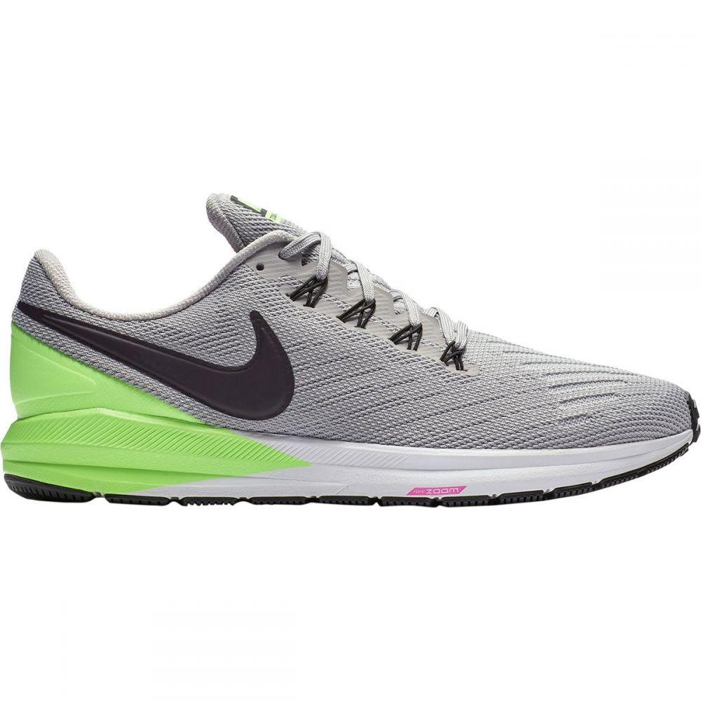 ナイキ Nike メンズ ランニング・ウォーキング シューズ・靴【Air Zoom Structure 22 Running Shoes】Atmosphere Grey/Burgundy Ash-Lime Blast