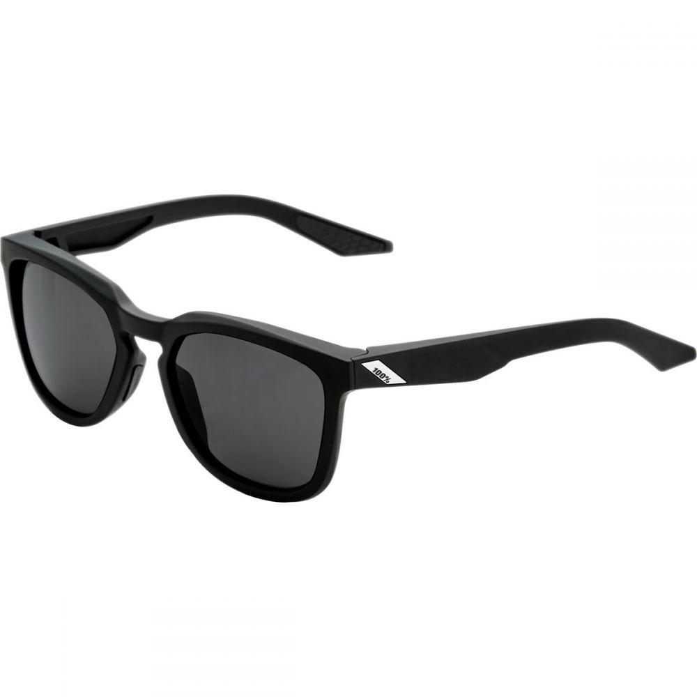 ヒャクパーセント 1 レディース スポーツサングラス【Hudson Sunglasses】Soft Tact Black-Smoke Lens