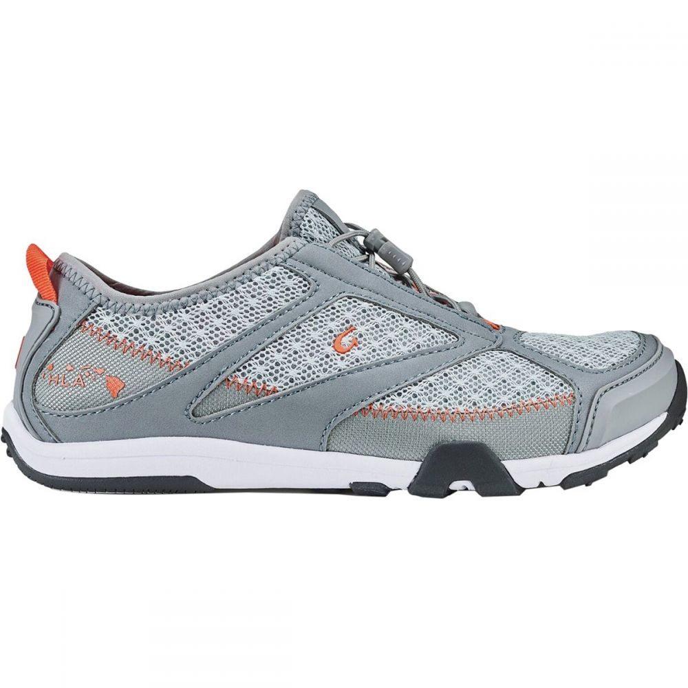 オルカイ Olukai レディース シューズ・靴 ウォーターシューズ【'Eleu Trainer Water Shoe】Pale Grey/Poi