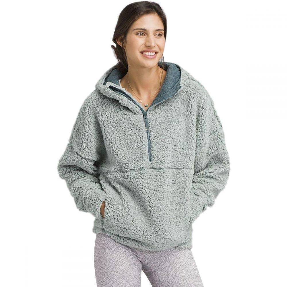 プラーナ Prana レディース トップス フリース【Permafrost 1/2 - Zip Fleece Jacket】Agave