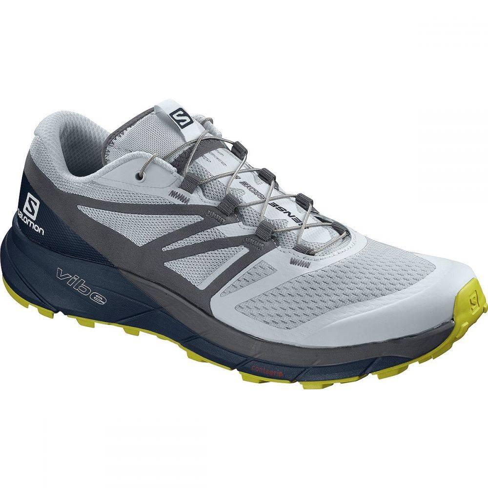 サロモン Salomon メンズ ランニング・ウォーキング シューズ・靴【Sense Ride 2 Trail Running Shoes】Illusion Blue/Navy Blazer/Citronelle