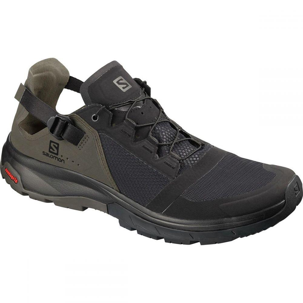 サロモン Salomon メンズ シューズ・靴 ウォーターシューズ【Techamphibian 4 Shoes】Black/Beluga/Castor Gray