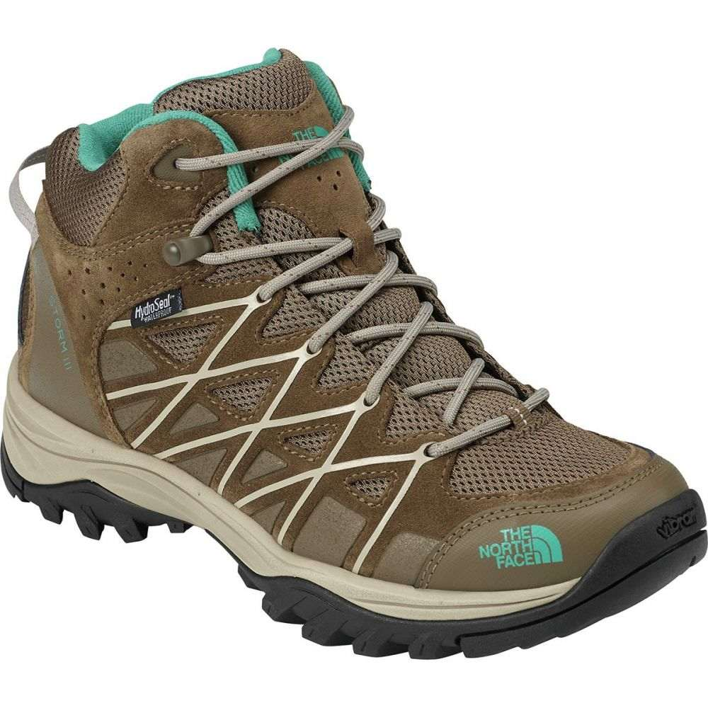 ザ ノースフェイス The North Face レディース ハイキング・登山 シューズ・靴【Storm III Mid Waterproof Hiking Boot】Cub Brown/Crockery Beige