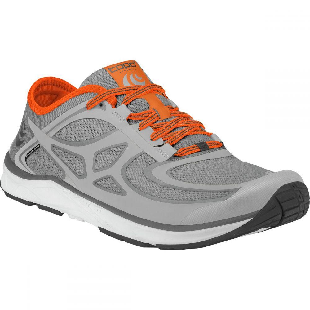 トポ アスレチック Topo Athletic メンズ ランニング・ウォーキング シューズ・靴【ST - 2 Running Shoes】Grey/Orange