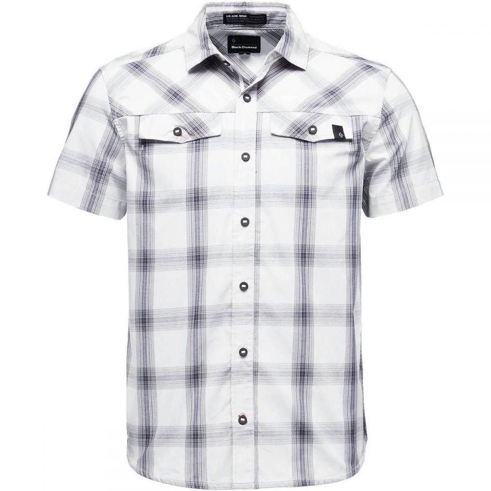 ブラックダイヤモンド Black Diamond メンズ トップス 半袖シャツ【Benchmark Short-Sleeve Shirts】Alloy/Captain/Anthracite Plaid