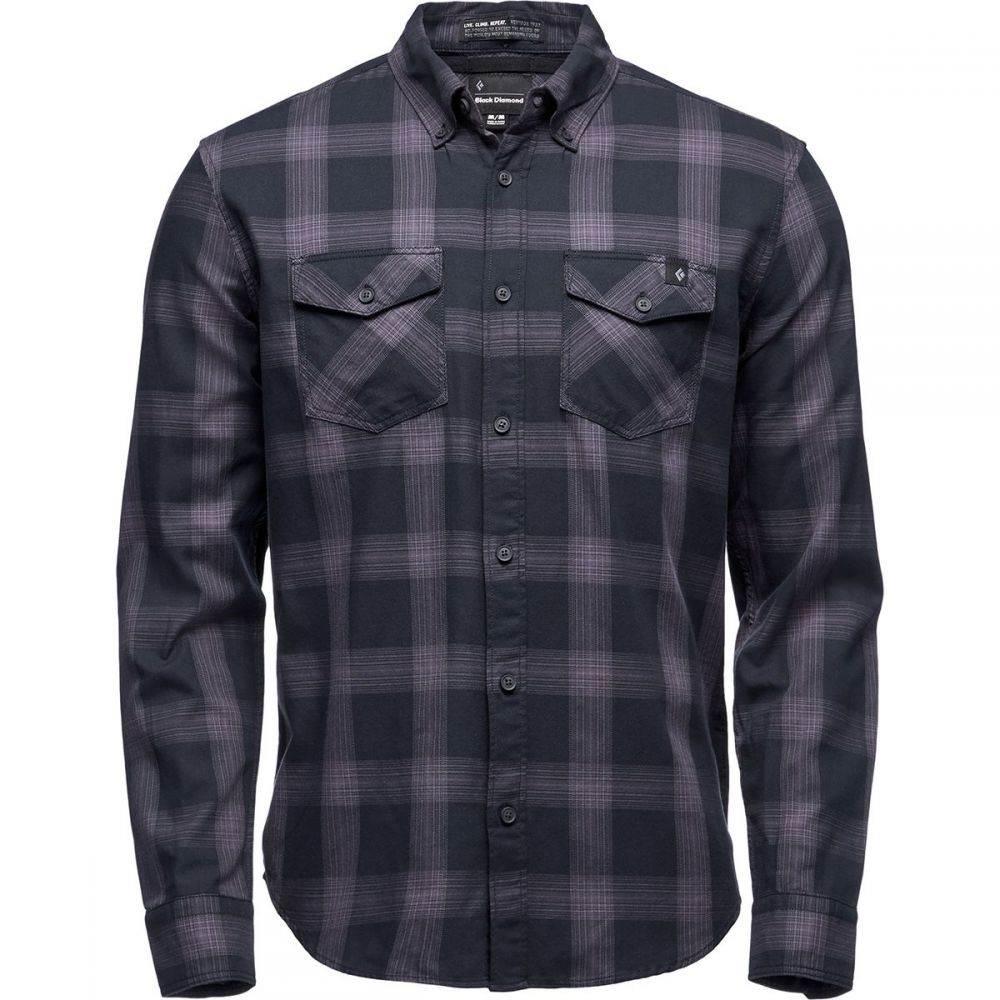 ブラックダイヤモンド Black Diamond メンズ トップス 半袖シャツ【Benchmark Short-Sleeve Shirts】Black/Anthracite/Carbon Plaid