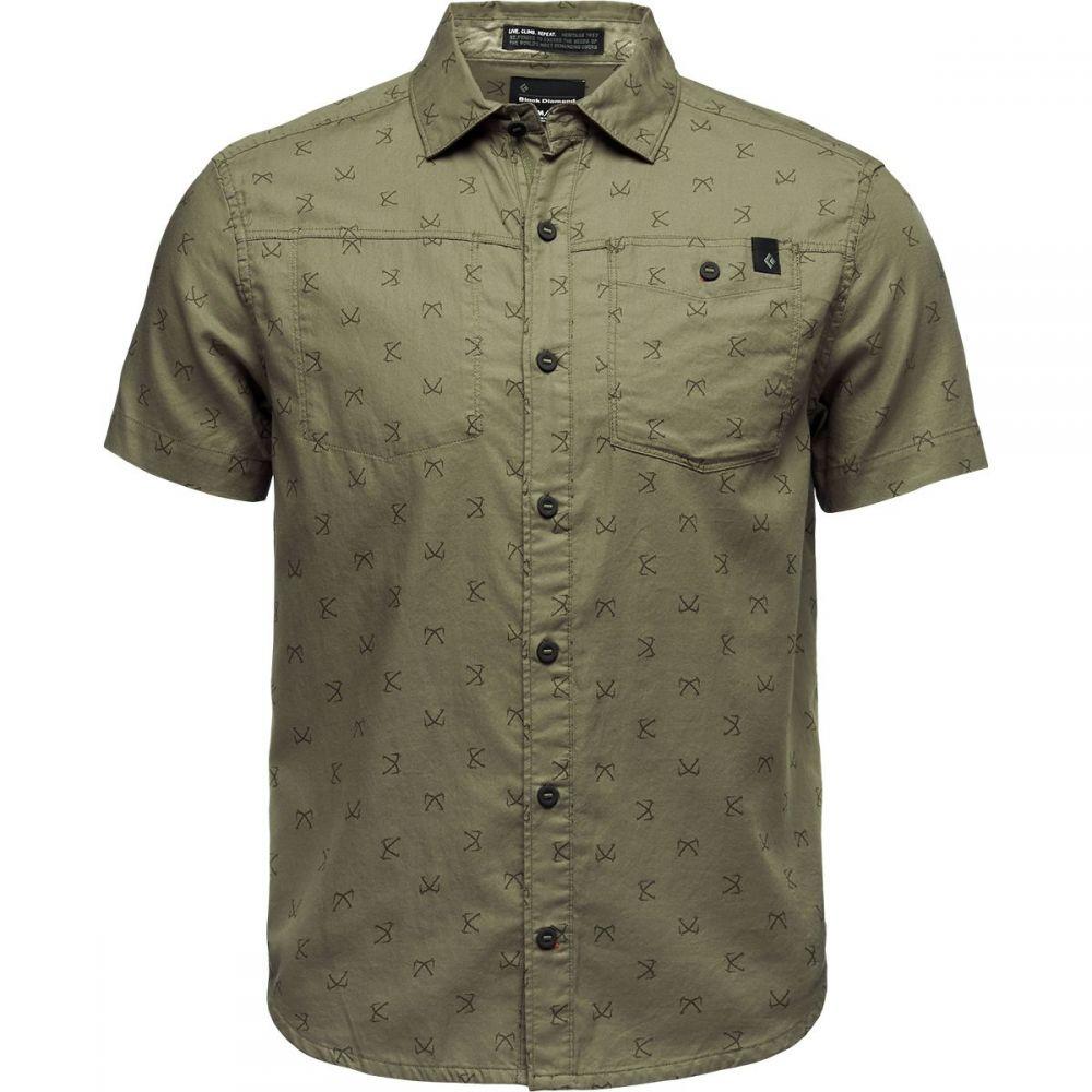 ブラックダイヤモンド Black Diamond メンズ トップス 半袖シャツ【Solution Short-Sleeve Shirts】Sergeant Print