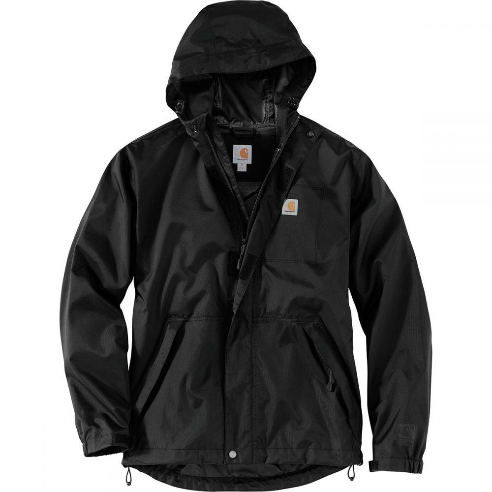 カーハート Carhartt メンズ アウター レインコート【Dry Harbor Jackets】Black