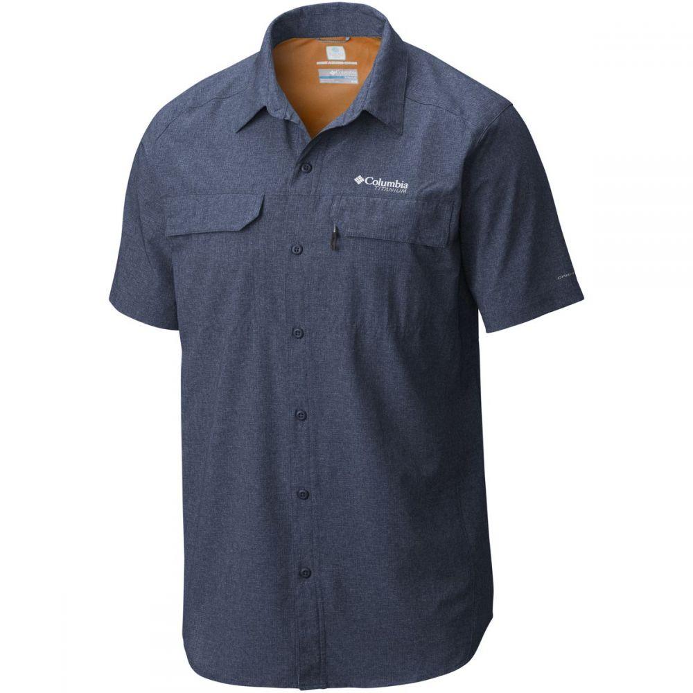 コロンビア Columbia メンズ トップス 半袖シャツ【Titanium Irico Short-Sleeve Shirts】Collegiate Navy Heather