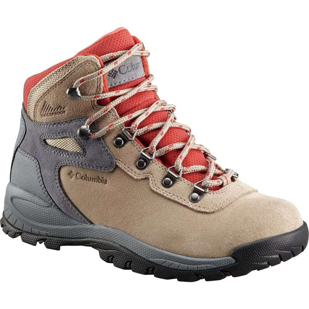 コロンビア Columbia レディース ハイキング Columbia・登山 シューズ Amped・靴【Newton Ridge レディース Plus Waterproof Amped Hiking Boot】Oxford Tan/Flame, かんてい局 横浜港南店:7f2165d8 --- sunward.msk.ru