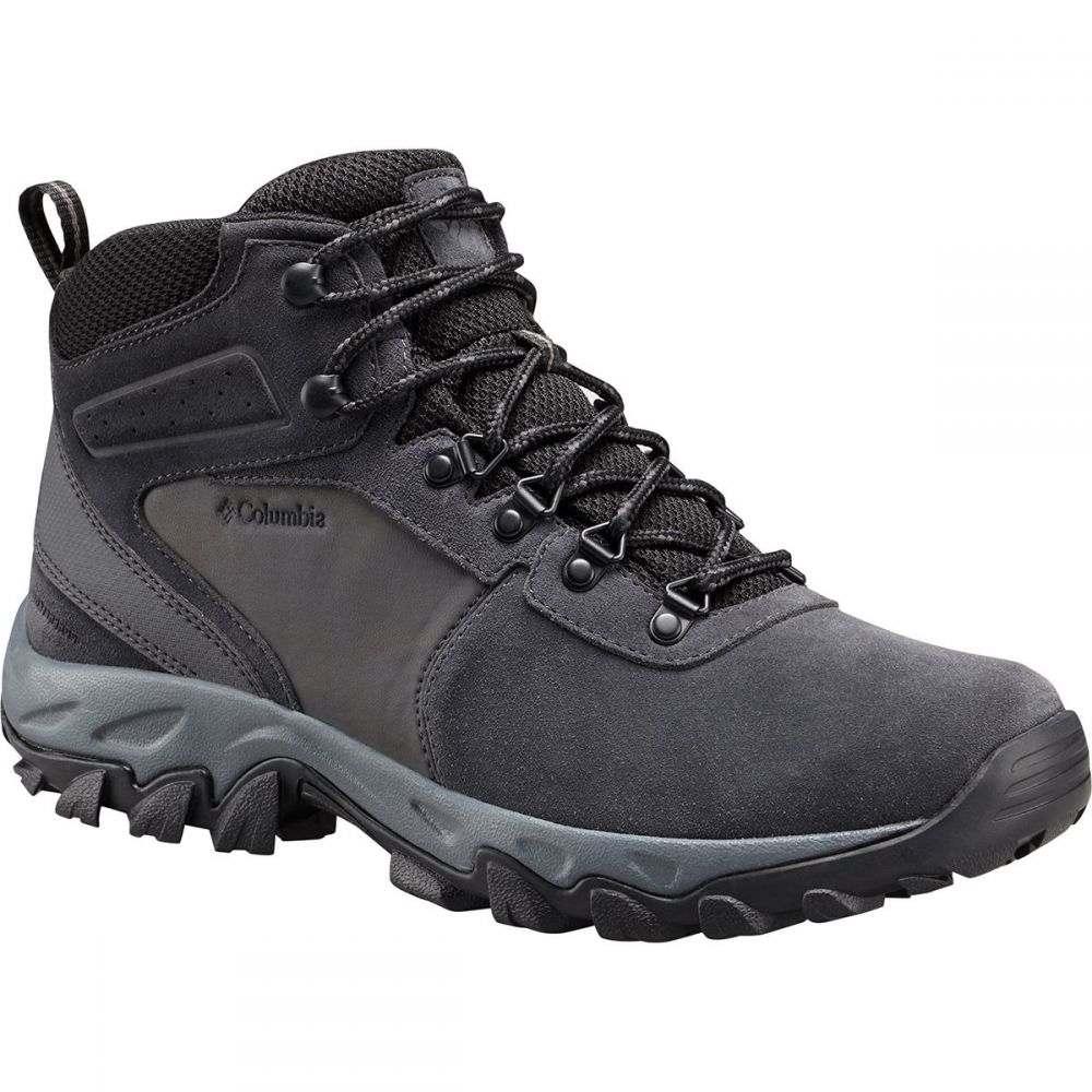 コロンビア Columbia メンズ ハイキング・登山 Boots】Shark/Black シューズ Suede・靴【Newton Ridge メンズ Plus II Suede WP Hiking Boots】Shark/Black, ピーアイシーnetshop 2号店:ad6cc7d1 --- sunward.msk.ru