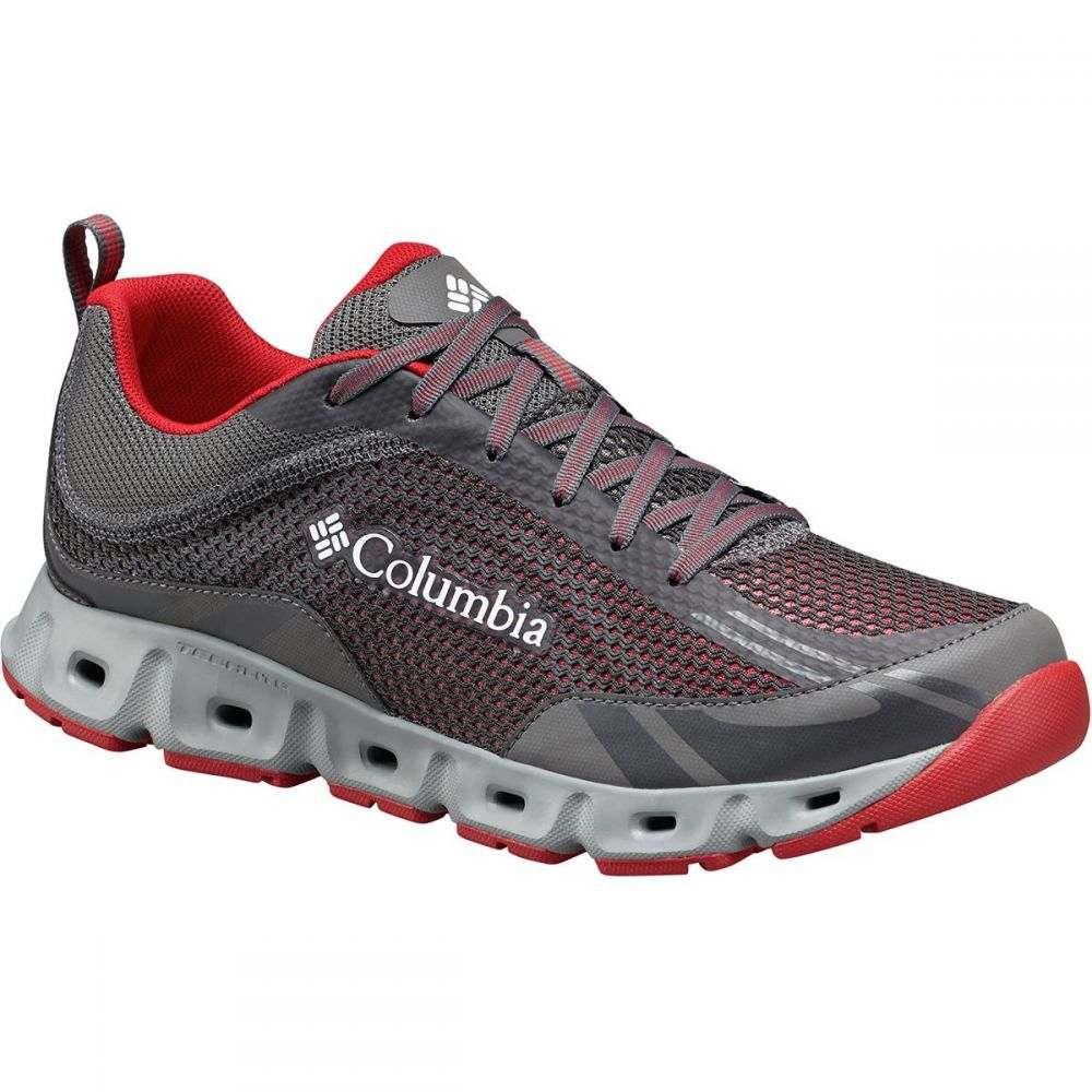 コロンビア Columbia メンズ シューズ・靴 ウォーターシューズ【Drainmaker IV Water Shoes】City Grey/Mountain Red