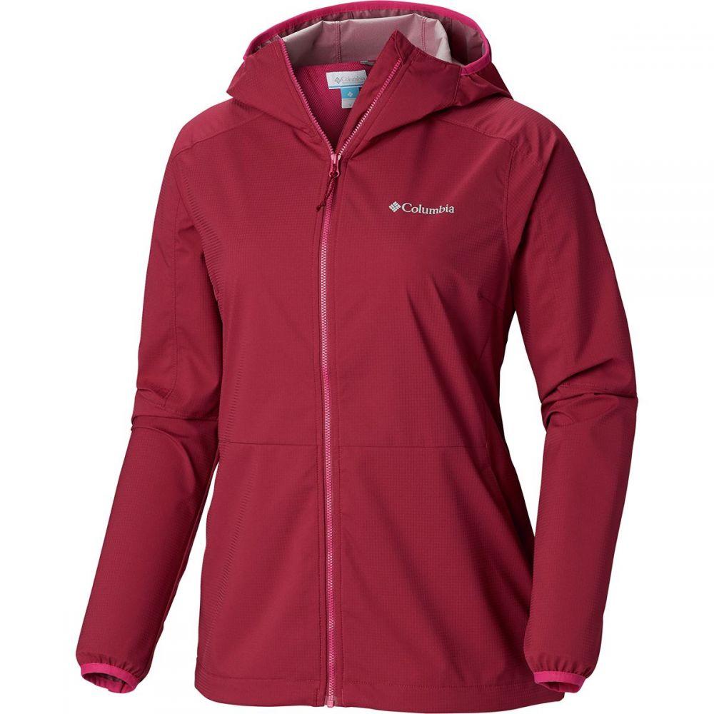 コロンビア Columbia レディース アウター レインコート【Mystic Trail Jacket】Wine Berry