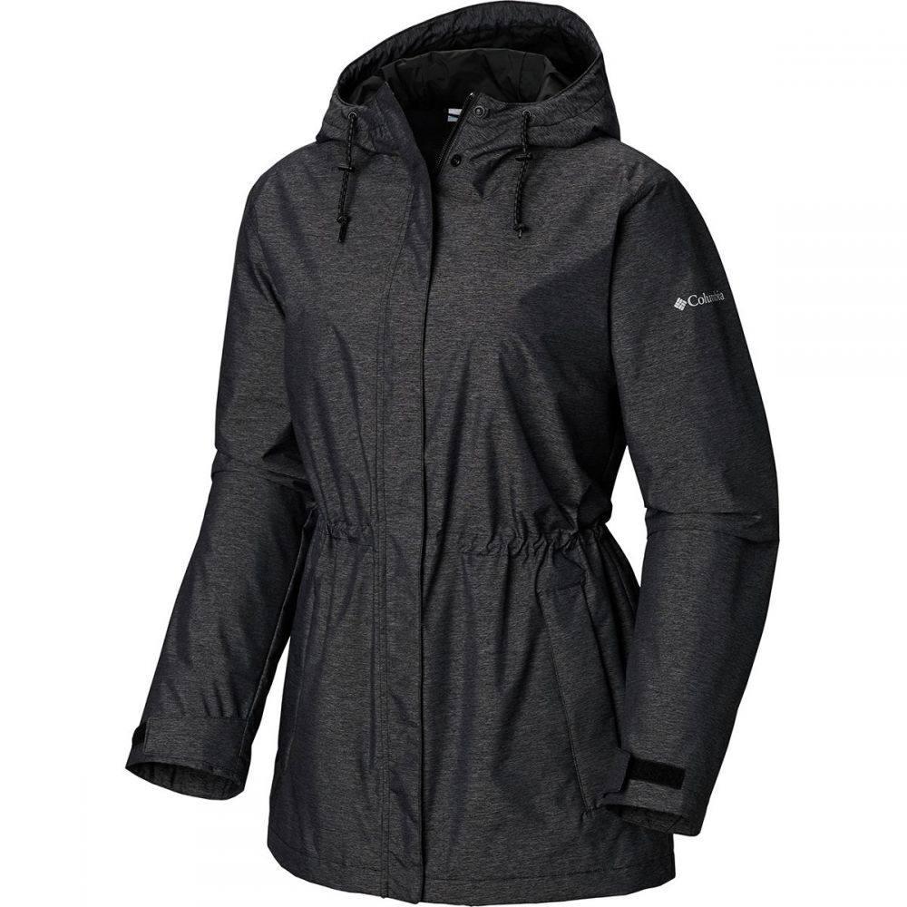 コロンビア Columbia レディース アウター レインコート【Norwalk Mountain Jacket】Black Heather