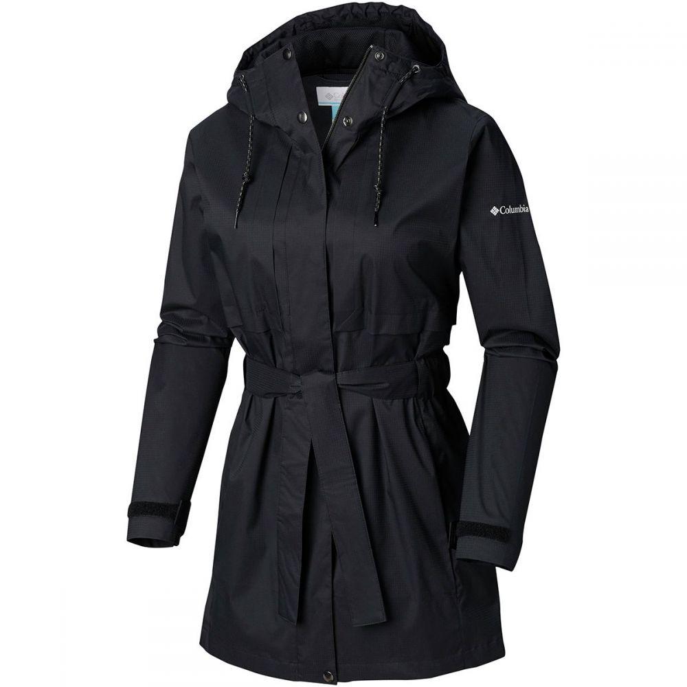 コロンビア Columbia レディース アウター レインコート【Pardon My Trench Rain Jacket】Black