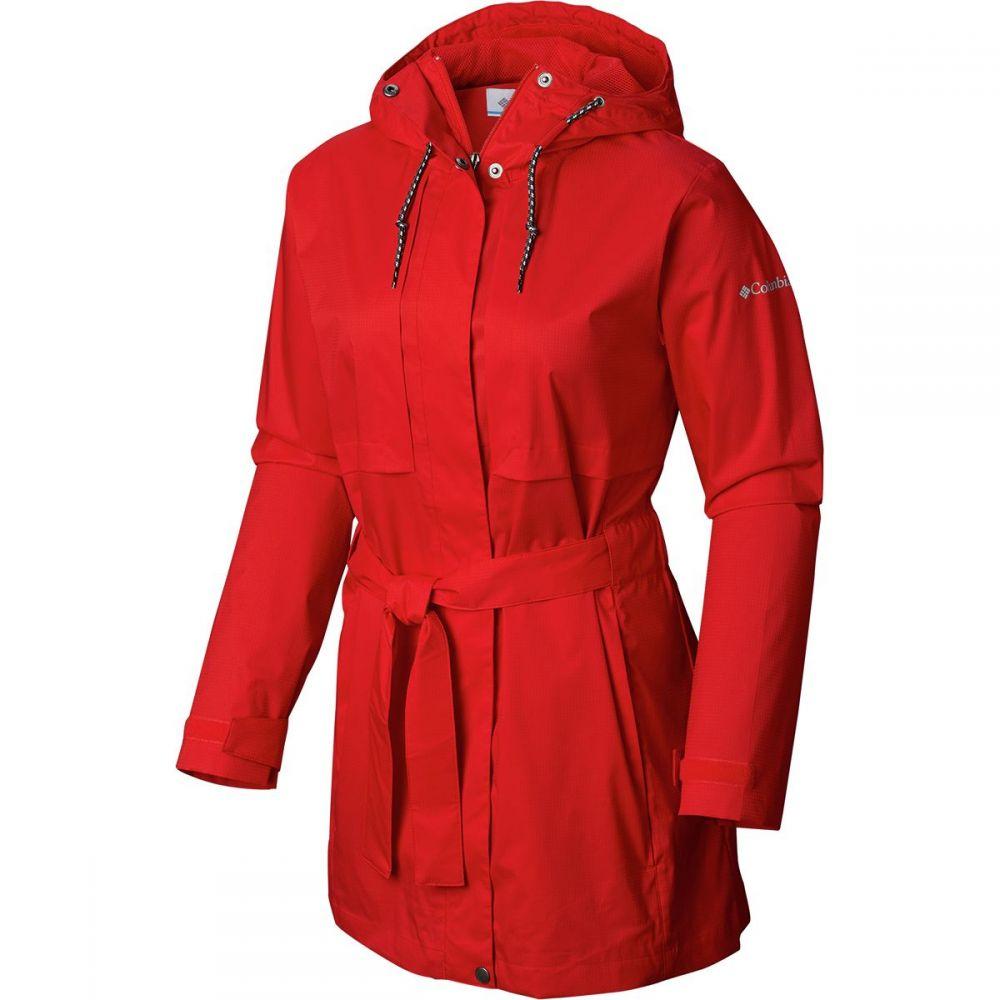 コロンビア Columbia レディース アウター レインコート【Pardon My Trench Rain Jacket】Cherrybomb