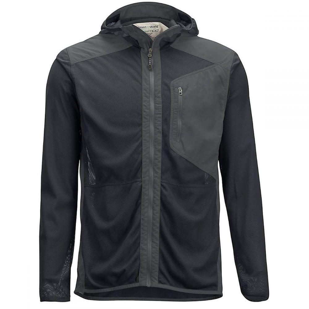 エクスオフィシオ ExOfficio メンズ 釣り・フィッシング アウター【BugsAway Sandfly Hooded Jackets】Carbon