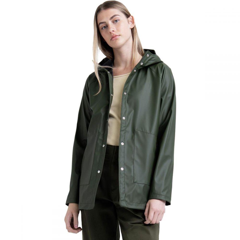 ハーシェル サプライ Herschel Supply レディース アウター レインコート【Classic Jacket】Dark Olive