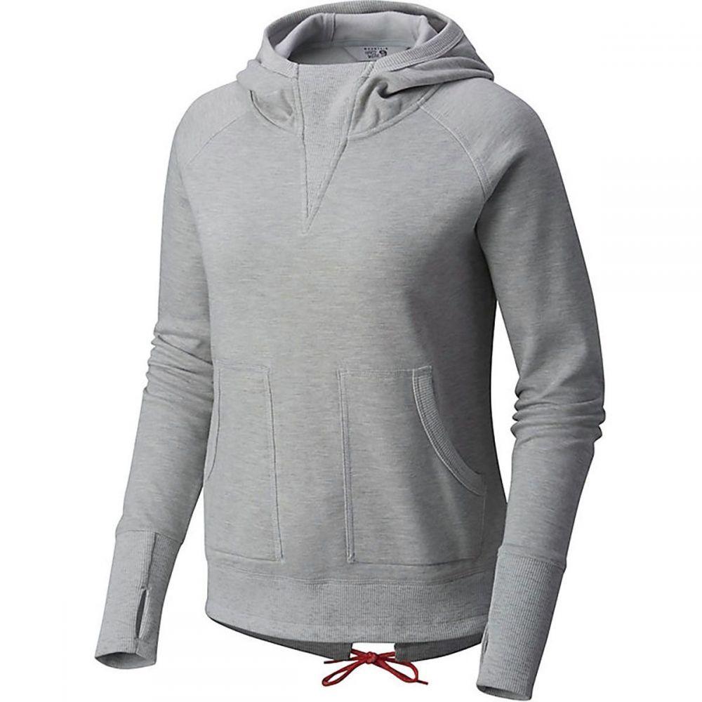 マウンテンハードウェア Mountain Hardwear レディース トップス スウェット・トレーナー【Firetower Long-Sleeve Crew Sweatshirt】Grey Ice