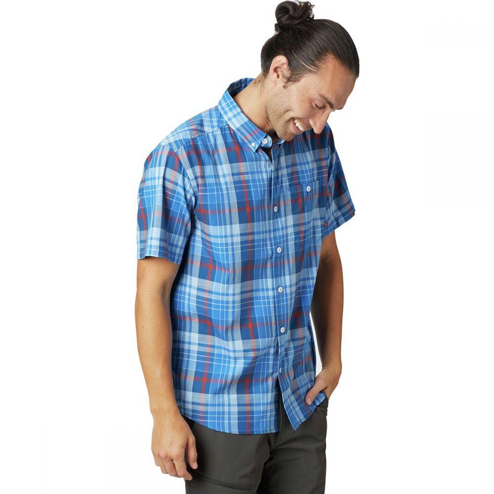マウンテンハードウェア Mountain Hardwear メンズ トップス 半袖シャツ【Minorca Short-Sleeve Shirts】Altitude Blue
